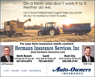 Let a Local Independent Agent Help You Cover All You've Worked so Hard to Build