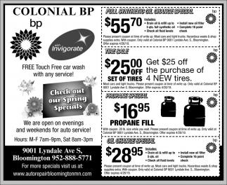 Colonial BP