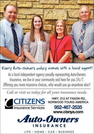 Call or Visit us Today for All Your Insurance Needs