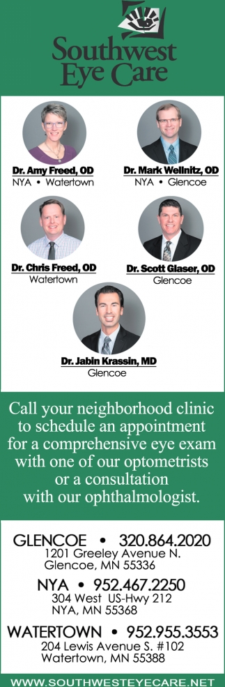 Call Your Neighborhood Clinic to Schedule an Appointment for a Comprehensive Eye Exam