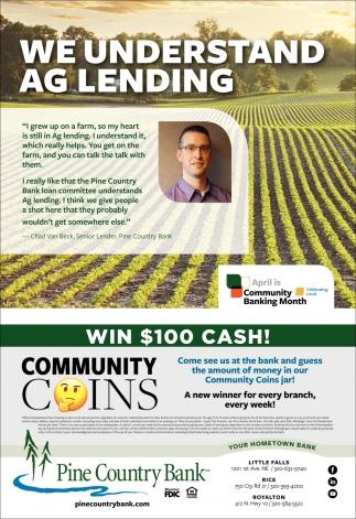 We Understand AG Lending