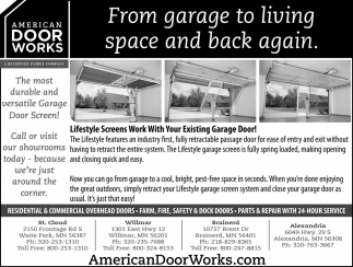 From Garage to Living Space and Back Again