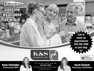 Shingles Vaccine Available at K & S