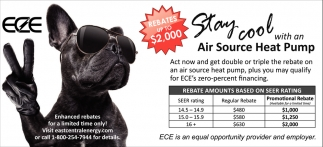 Stay Cool with an Air Source Heat Pump
