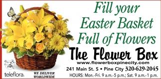 Fill Your Easter Basket Full of Flowers