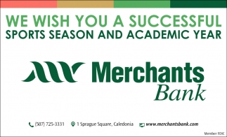 We Wish You a Successful Sports Season and Academic Year