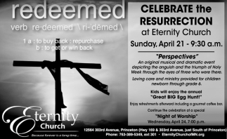 Celebrate the Resurrection at Eternity Church