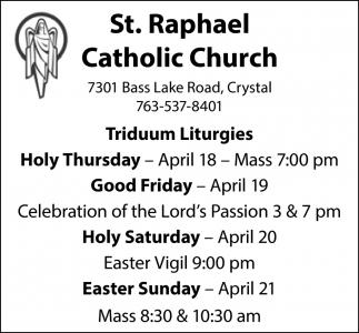 Triduum Liturgies