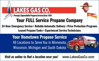 Your Full Service Propane Company